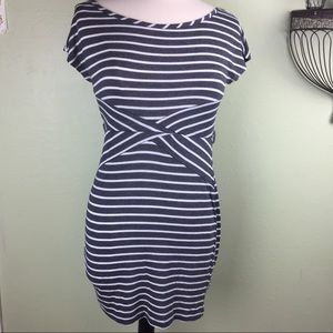 Rue21 Striped TEE T-shirt Dress